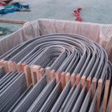 """Tubos soldados de la curva en U del tubo en forma de """"u"""" del acero inoxidable para el cambiador de calor"""