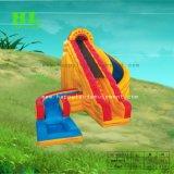 Trasparenza di acqua gonfiabile personalizzata di tema del castello per i capretti che giocano il gioco di sport esterni in vacanza estiva