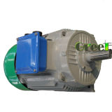 25kw 400rpm Low RPM 3 phase AC Brushless Alternator, permanently solenoid generator, High Efficiency direct current generator, Magnetic aero generator