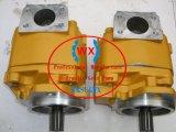 Bomba de engranaje hidráulica de la junta del doble del cargador de la rueda de Factory~OEM KOMATSU Wa380-1: 705-52-30220 recambios de la maquinaria de Contruction