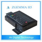 T2 combinado DVB C Zgemma H5 do decodificador DVB S2 DVB de Hevc
