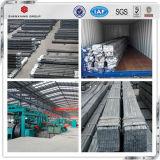 Qualitäts-warm gewalzte u. aufschlitzende Q235cr Fluss-Stahl-flacher Stab-Größen