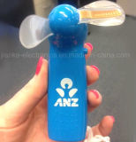 Mini ventilateur tenu dans la main d'éclairage LED avec le logo estampé (3509)