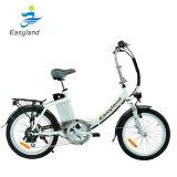 알루미늄 합금을%s 가진 전기 자전거 20inches를 접히는 Easyland