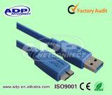 Fio USB redondo de alta qualidade