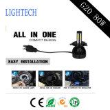 Alta automobile chiara di lumen LED con il faro universale dell'automobile H4 LED di Perfert ed il faro del LED