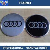Emblema de roda de metal de alumínio de 55mm Car Center Sticker