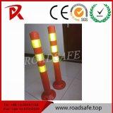 도로 안전 유연한 PU 나사의 회전 표시 포스트