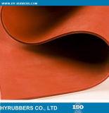 Feuille de silicone rouge haute résistance
