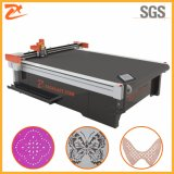 Automatisch het Voeden CNC Leer Scherpe Machine met Transportband 2516