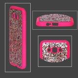 Пудинг розового цвета Порошок ИЗ ТЕРМОПЛАСТИЧНОГО ПОЛИУРЕТАНА PU футляр из натуральной кожи.