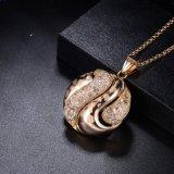 最新のデザインの円形の卸し売り方法イエロー・ゴールドの宝石類セット