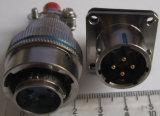 Xcg18シリーズバイオネットカップリングの円コネクター