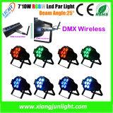 Mini LED PAR 7X10W Clay Packy Stage Light