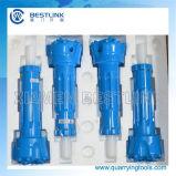 Alti utensili a inserti centrali bassi di pressione d'aria DTH
