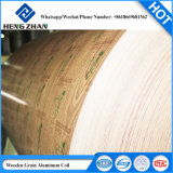 Soffitto, coprendo applicazione ed O - bobina di alluminio del rivestimento di legno H112