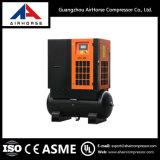 Compresor de aire del tornillo con el tanque Ah-20 15kw/20HP