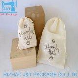 8oz de blanchiment blanc sac de toile de coton pour la farine de blé