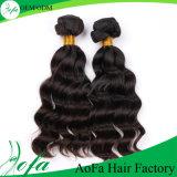 Extensão malaia do cabelo da alta qualidade do cabelo humano do Virgin