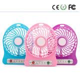 Beweglicher nachladbarer USB-Miniluft-Ventilator-Signalformer, der kühlen Miniventilator abkühlt