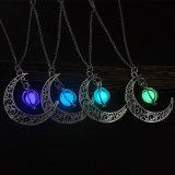 De Steen van de Vrouwen van de manier glanst Halsband van de Steen van de Charme van de Maan de Lichtgevende