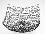 Metal Cesta de fruta fresca elegancia Baske cable