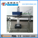 macchina di plastica della marcatura del laser del CO2 di 10W 30W 50W per il codice della bottiglia del PE dei pp