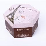 La caja de regalo personalizado manufactura Caja de papel Kraft Caja de papel dulce