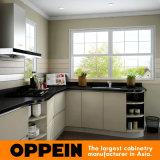 Armadi da cucina della melammina moderna del commercio all'ingrosso HPL di Oppein piccoli (OP16-HPL02)