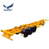3 осей 50 тонн 40-футовом контейнере Полуприцепе шасси