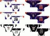 Customized Quebec Grande Liga de Hóquei Jr Hull Olympiques 2002-2009 Home e hóquei no gelo Jersey