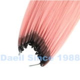 Extensión natural del pelo de Microchet de la extensión del pelo humano