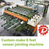 Marcação ce de 8 Pés folheado de núcleo de madeira Jointer/compositor de contraplacado de máquina de junção