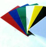 Hoja coloreada PC plástica de la resistencia del policarbonato
