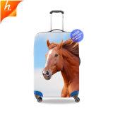 Elástico impermeable cubierta protectora de equipaje Impresión 3D el patrón de caballo