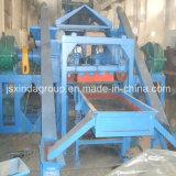 Kratzen-Reifen-Abfallverwertungsanlagen-Gummipuder-Gerät