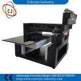 Impressora Flatbed UV do diodo emissor de luz do tamanho A3 pequeno