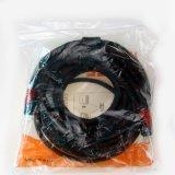 Breit het Magnetische koper-Beklede Staal van Ring twee Coaxiale Kabel HDMI