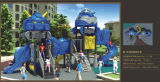 Kaiqi im Freienspielplatz-Gerät der mittelgrosser kühler Roboter-themenorientierten Kinder (KQ50061B)