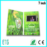 Geschäfts-Geschenk-videogruß-Karte LCD-Video-Broschüre