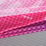 方法最も新しいピンクの印刷されたスポーツのレギングのヨガのズボン