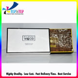 Caixa de empacotamento de carimbo quente do papel com logotipo feito sob encomenda