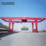 La construction navale de 300 tonnes tend le cou la grue de portique portative