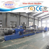 Le PVC de WPC granulent des extrudeuses de la ligne de machine d'extrusion/WPC