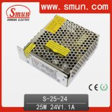 25W 24V 1A AC/DC Power Supply mit Cer RoHS Approved