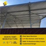 商業アルミニウムフレームワーク記憶の為に白いPVCカバー大きいテント