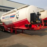 Marque Chengda 3 essieux 80t Transporteur de ciment en vrac pour la vente