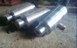 Rainure de l'usine professionnel fourni les rouleaux de fer en acier moulé