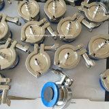 ホースのトゲが付いている衛生ステンレス鋼の空気打撃の小切手弁