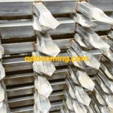 حامية أنبوبيّة فولاذ معدن سياج